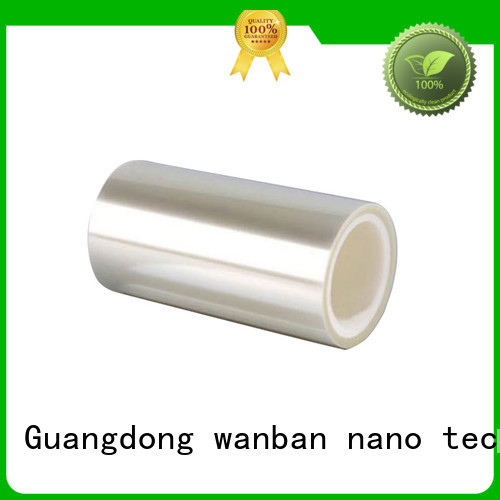 Wanban adhering protective film for electronics suppliers for tv screen