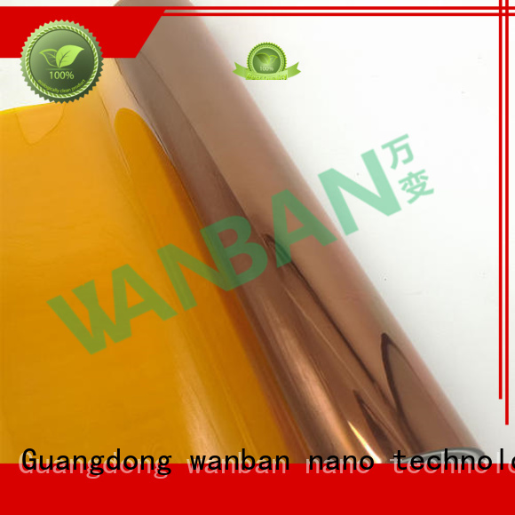 Wanban protective plastic film suppliers for screen
