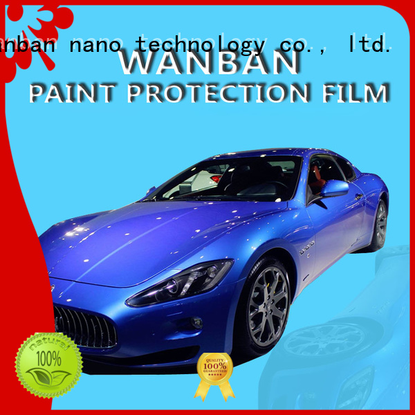 Wanban tpu 3m automotive clear protective film suppliers for car